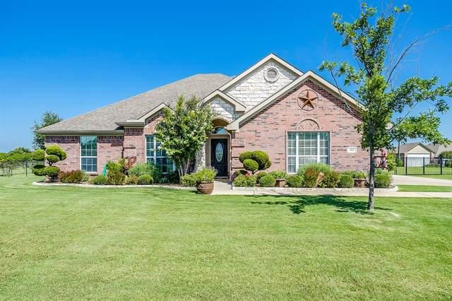 161 Portales Drive, Aledo, TX 76008 (MLS #14386392) :: Tenesha Lusk Realty Group