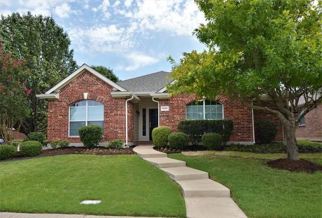 1546 Cliff Creek Drive, Allen, TX 75002 (MLS #14386596) :: Tenesha Lusk Realty Group