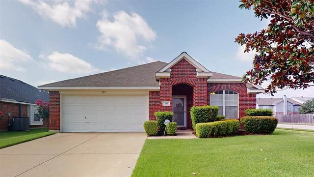 300 Foreston Drive, Roanoke, TX 76262 (MLS #14386600) :: All Cities USA Realty