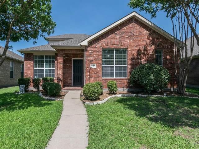 107 Cold Springs Court, Allen, TX 75002 (MLS #14386788) :: Tenesha Lusk Realty Group