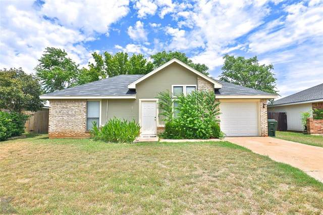 3909 Georgetown Drive, Abilene, TX 79602 (MLS #14386847) :: The Mitchell Group