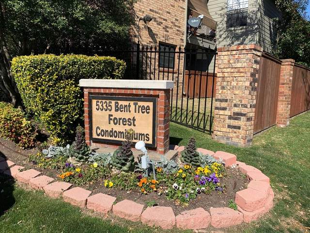 5335 Bent Tree Forest Drive #259, Dallas, TX 75248 (MLS #14386943) :: Front Real Estate Co.