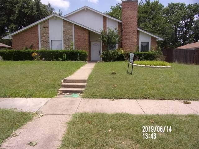 1504 Versailles Drive, Richardson, TX 75081 (MLS #14386974) :: Tenesha Lusk Realty Group