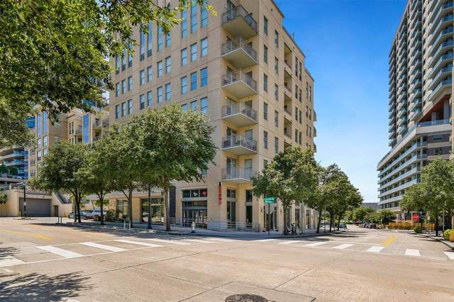 2323 N Houston Street #613, Dallas, TX 75219 (MLS #14387325) :: Results Property Group