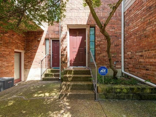 5619 Preston Oaks Road #203, Dallas, TX 75254 (MLS #14387335) :: The Mauelshagen Group