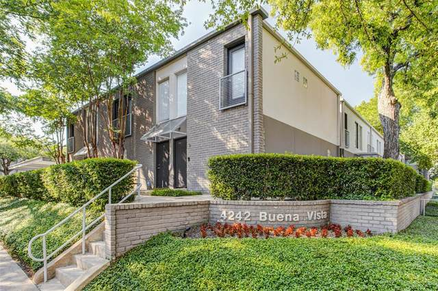 4242 Buena Vista Street #16, Dallas, TX 75205 (MLS #14387445) :: The Paula Jones Team | RE/MAX of Abilene