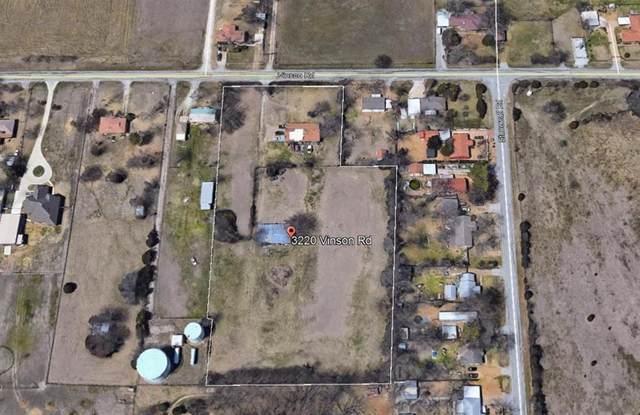 3220 Vinson Road, Rowlett, TX 75098 (MLS #14387643) :: The Kimberly Davis Group