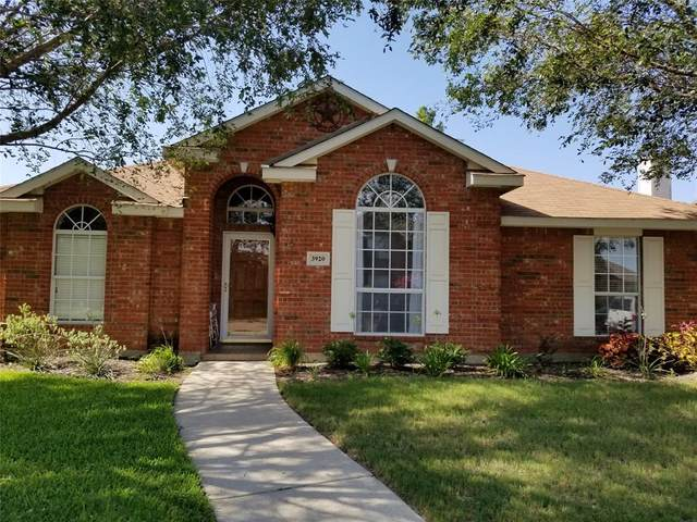 3920 Oakmont Drive, The Colony, TX 75056 (MLS #14388203) :: The Kimberly Davis Group