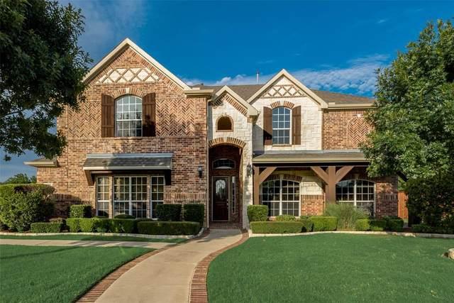 1016 Shady Rest Lane, Corinth, TX 76208 (MLS #14388246) :: The Kimberly Davis Group