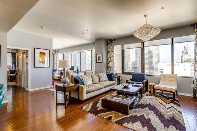 1200 Main Street #2609, Dallas, TX 75202 (MLS #14389320) :: The Hornburg Real Estate Group