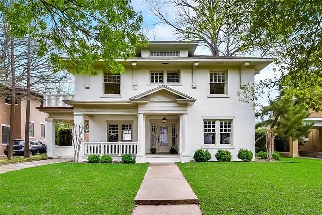 4908 Junius Street, Dallas, TX 75214 (MLS #14389468) :: EXIT Realty Elite