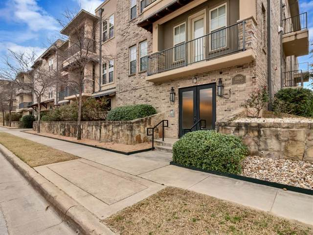 2800 Sandage Avenue #106, Fort Worth, TX 76109 (MLS #14390213) :: The Mitchell Group