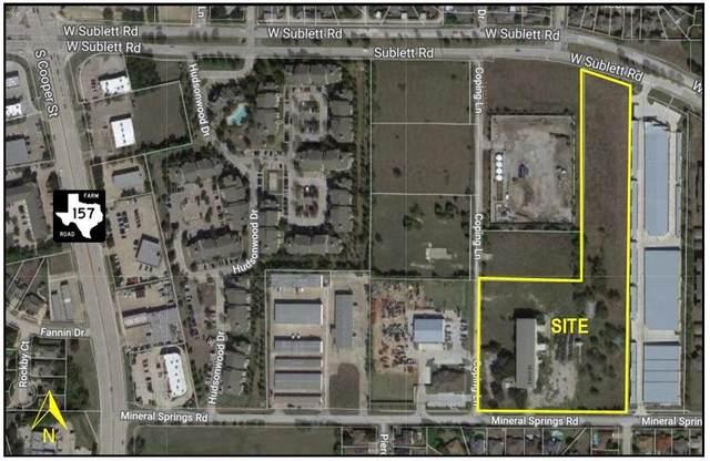 1011 Mineral Springs Road, Arlington, TX 76001 (MLS #14391146) :: Robbins Real Estate Group