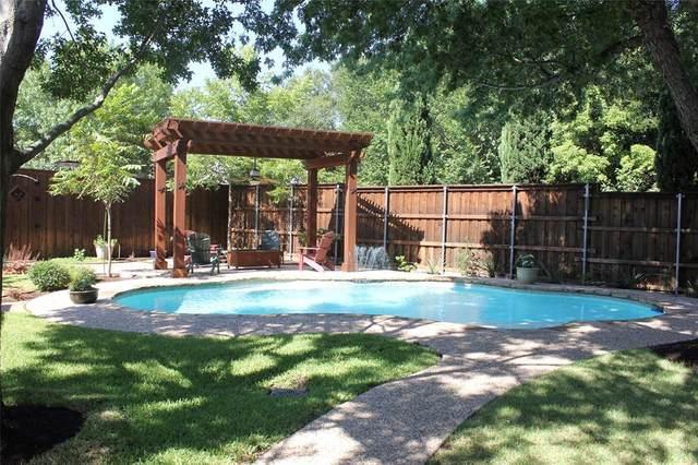 529 Creek Court, Lewisville, TX 75067 (MLS #14392015) :: Maegan Brest | Keller Williams Realty