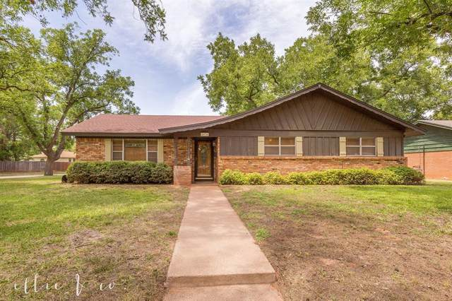 4074 Wilshire Drive, Abilene, TX 79603 (MLS #14392986) :: The Heyl Group at Keller Williams