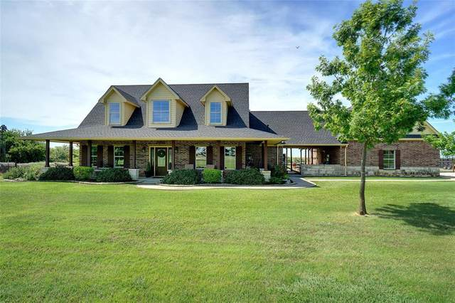14341 Burns Branch Road, Krum, TX 76249 (MLS #14396394) :: The Mauelshagen Group