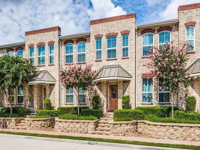206 Lily Lane, Lewisville, TX 75057 (MLS #14396779) :: The Kimberly Davis Group