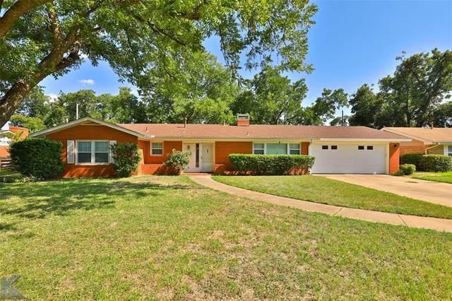 1701 Wychwood Drive, Abilene, TX 79605 (MLS #14397061) :: The Chad Smith Team