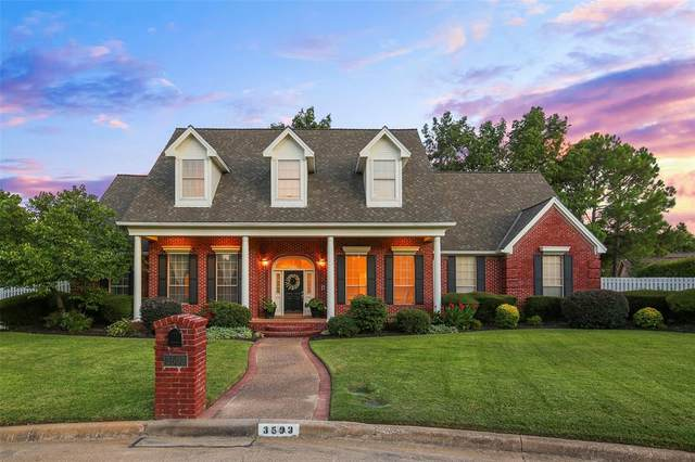 3503 Queensbury Way E, Colleyville, TX 76034 (MLS #14397420) :: The Heyl Group at Keller Williams