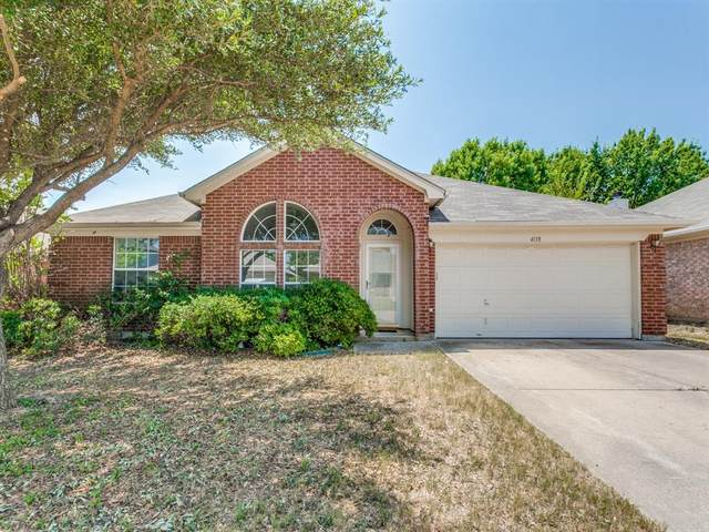 4118 Highgrove Drive, Arlington, TX 76001 (MLS #14397809) :: The Hornburg Real Estate Group