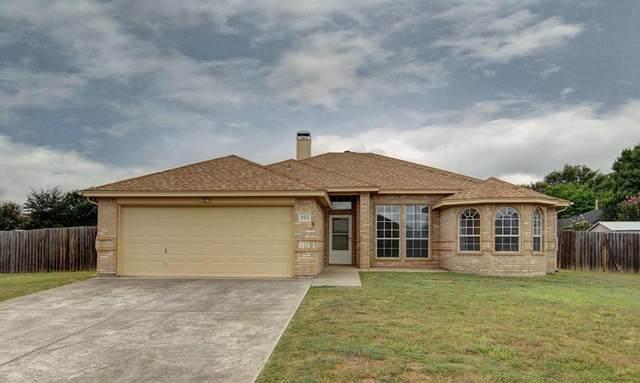 201 Willow Creek Drive, Weatherford, TX 76085 (MLS #14397875) :: NewHomePrograms.com LLC
