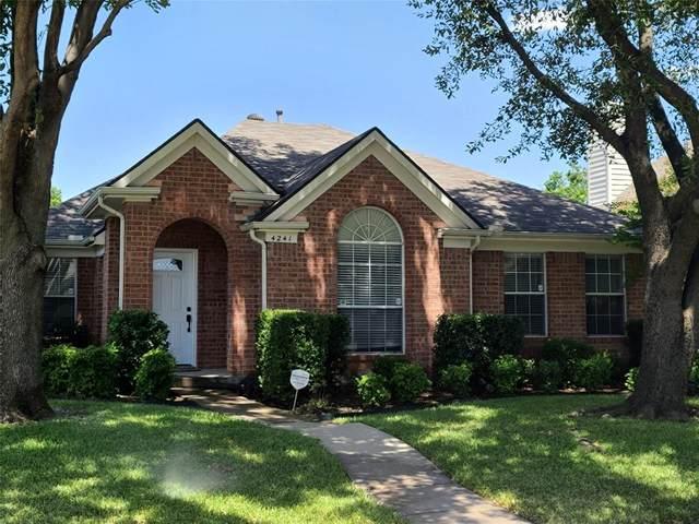 4241 Creekstone Drive, Plano, TX 75093 (MLS #14398022) :: EXIT Realty Elite