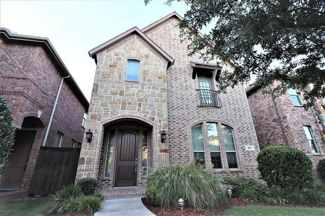 221 Carrington Lane, Lewisville, TX 75067 (MLS #14398057) :: The Rhodes Team