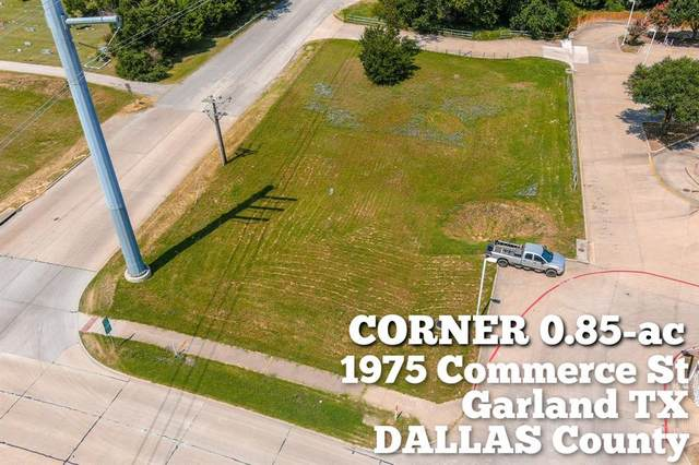 1975 Commerce Street, Garland, TX 75040 (MLS #14398404) :: The Kimberly Davis Group