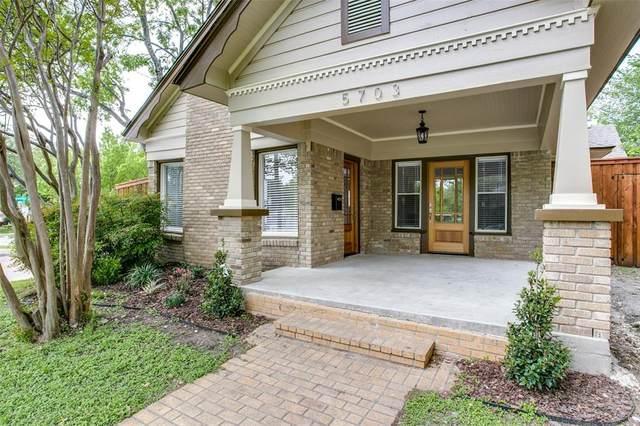 5703 Mercedes Avenue, Dallas, TX 75206 (MLS #14398566) :: Frankie Arthur Real Estate
