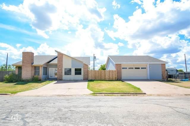 29 Reagan Circle, Abilene, TX 79605 (MLS #14398860) :: The Heyl Group at Keller Williams