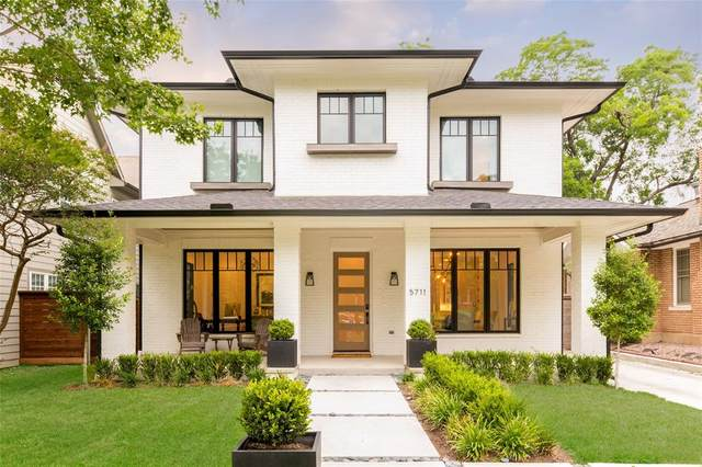 5711 Palo Pinto Avenue, Dallas, TX 75206 (MLS #14398865) :: Maegan Brest | Keller Williams Realty