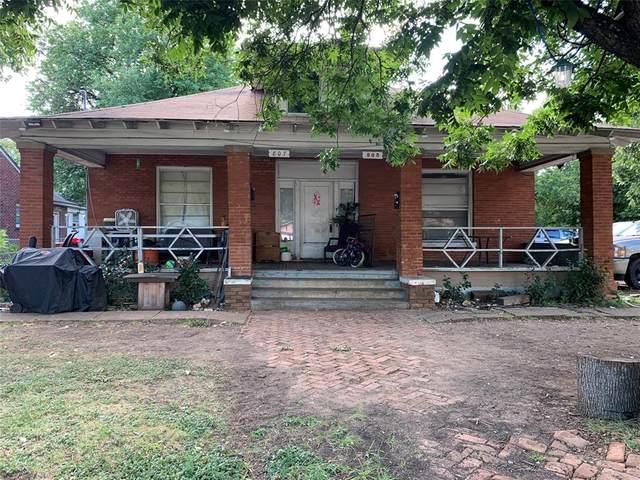 805 S Tyler Street, Dallas, TX 75208 (MLS #14399143) :: The Heyl Group at Keller Williams