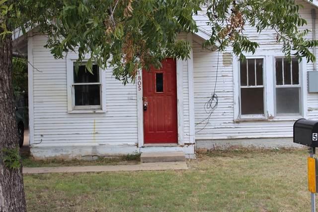 1805 S Commercial Avenue, Coleman, TX 76834 (MLS #14399270) :: Maegan Brest   Keller Williams Realty