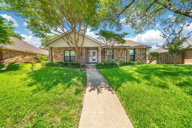 3505 Creststone Drive, Garland, TX 75040 (MLS #14399516) :: The Mauelshagen Group