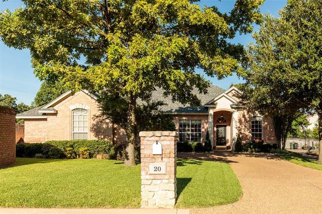 20 Red Bluff Court, Mansfield, TX 76063 (MLS #14399667) :: The Heyl Group at Keller Williams