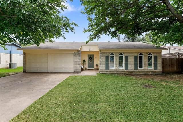 6420 Moonglow Lane, Watauga, TX 76148 (MLS #14399758) :: The Heyl Group at Keller Williams