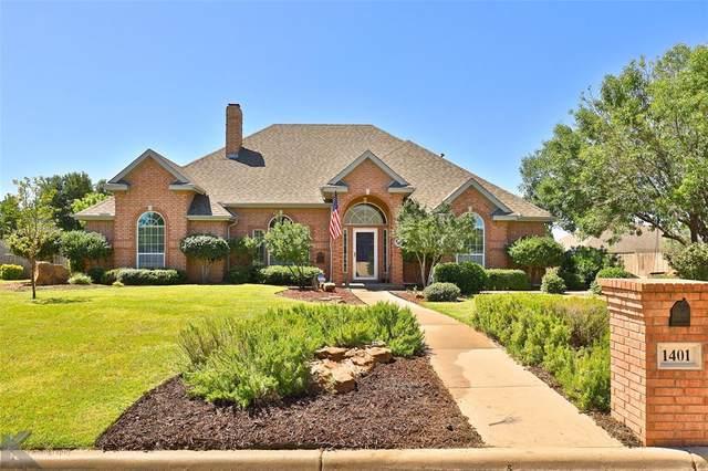 1401 Riata Road, Abilene, TX 79602 (MLS #14399831) :: Potts Realty Group