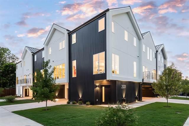 2001 N Prairie Avenue #105, Dallas, TX 75204 (MLS #14400101) :: Results Property Group