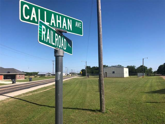 250 Railroad Avenue, Tuscola, TX 79562 (MLS #14400252) :: Frankie Arthur Real Estate
