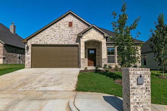1617 Town Creek Circle, Weatherford, TX 76086 (MLS #14400400) :: NewHomePrograms.com LLC