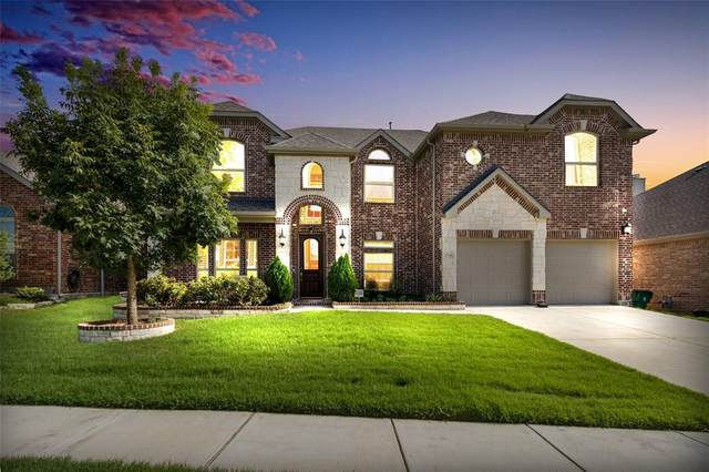 11709 Raeburn Court, Mckinney, TX 75071 (MLS #14400920) :: The Good Home Team
