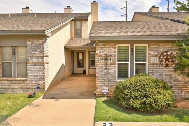 23 Crossroads Drive, Abilene, TX 79605 (MLS #14401088) :: The Heyl Group at Keller Williams