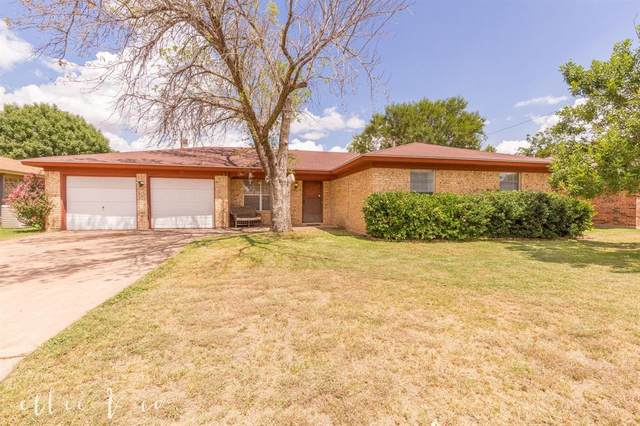 2257 Shere Lynne Drive, Abilene, TX 79606 (MLS #14401215) :: The Heyl Group at Keller Williams