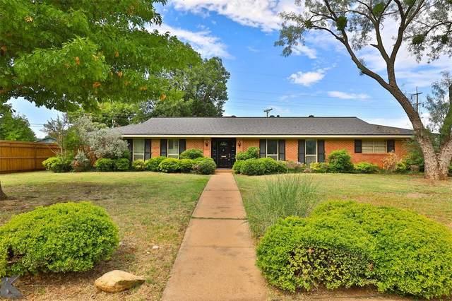 3602 Ligustrum Drive, Abilene, TX 79605 (MLS #14401453) :: North Texas Team | RE/MAX Lifestyle Property