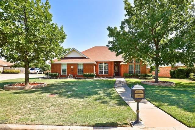 4574 Cougar Way, Abilene, TX 79606 (MLS #14401486) :: Century 21 Judge Fite Company