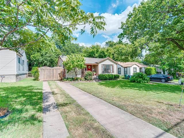 2725 Handley Drive, Fort Worth, TX 76112 (MLS #14401600) :: NewHomePrograms.com LLC