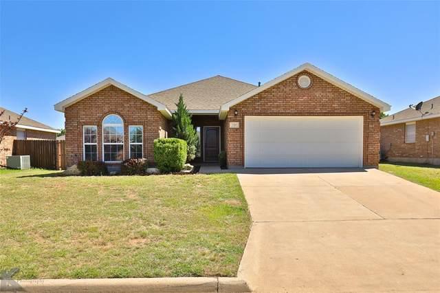249 Cotton Candy Road, Abilene, TX 79602 (MLS #14401683) :: Frankie Arthur Real Estate