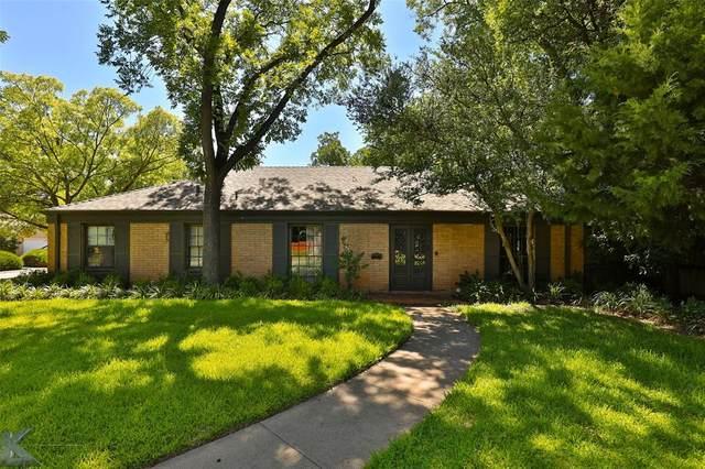 1190 Glenwood Drive, Abilene, TX 79605 (MLS #14401687) :: North Texas Team | RE/MAX Lifestyle Property