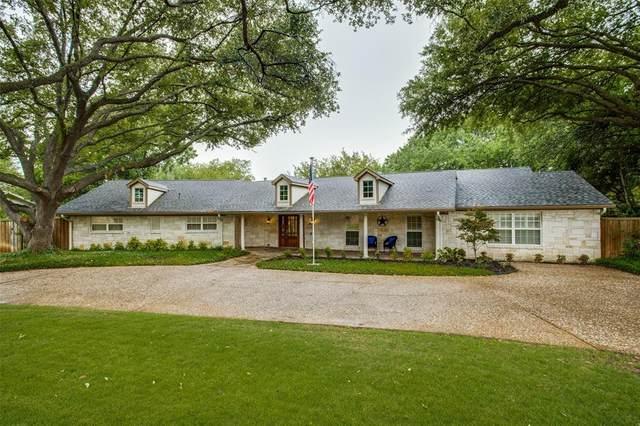 14117 Brookridge Circle, Dallas, TX 75254 (MLS #14401779) :: Frankie Arthur Real Estate