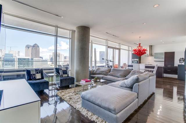 2430 Victory Park Lane #2507, Dallas, TX 75219 (MLS #14401855) :: Results Property Group